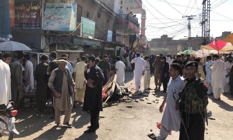 Parachinar Blast more than 20 Injured in IED Blast in Turi Bazar