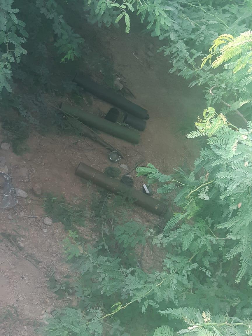 sindh rangers recovered rocket launchers in Karachi