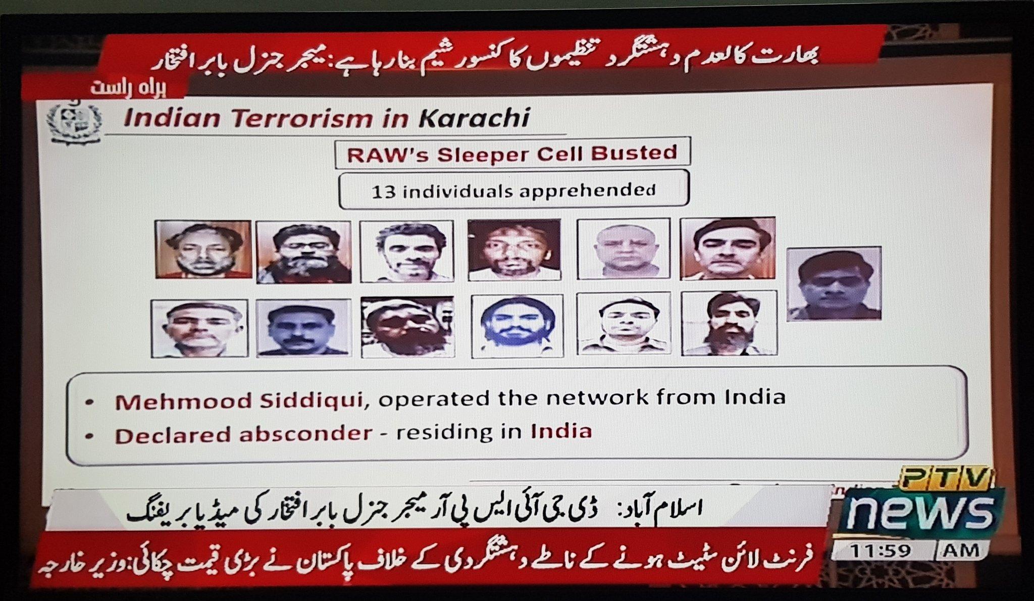 pakistan dossier on indian terrorism