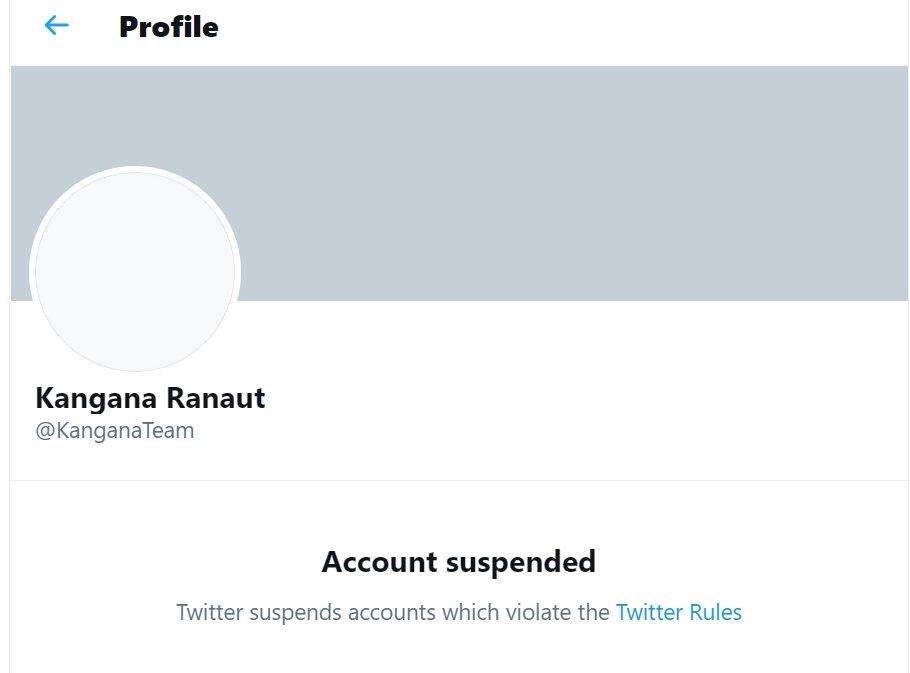 Kangana Ranaut Twitter