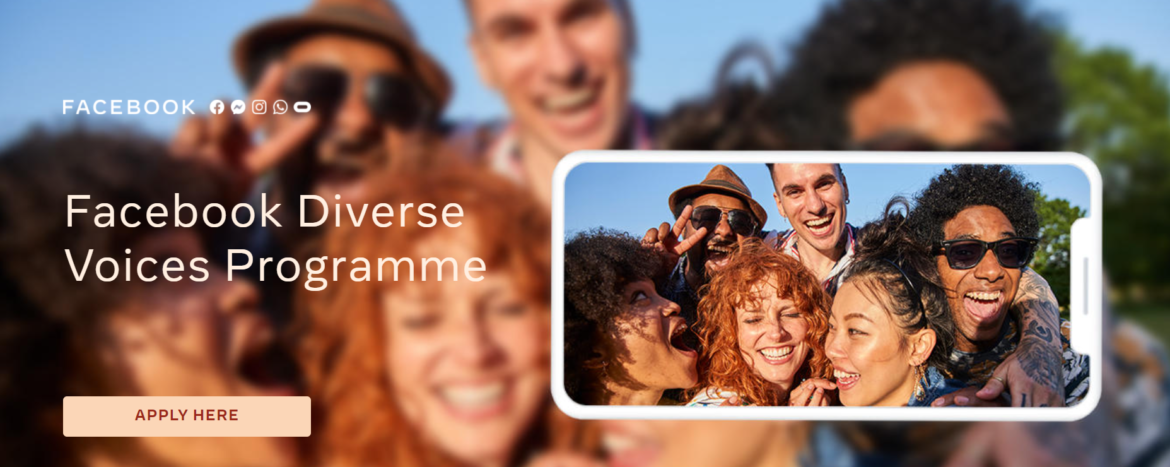 Facebook Diverse Voices Programme launched in EMEA to Support Creators