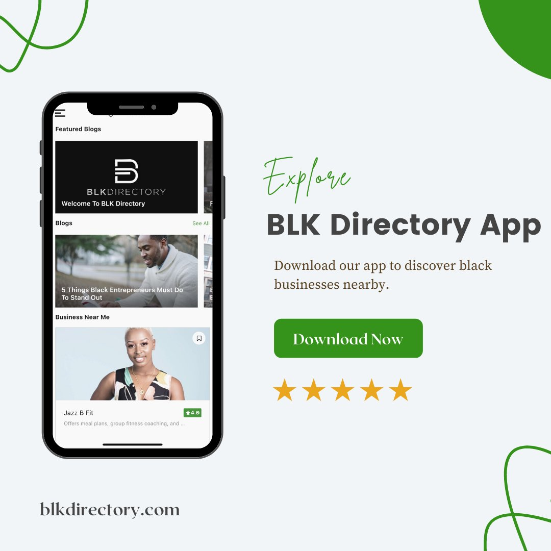 """Diamond Young Launched """"BLK Directory"""" An App to support Black Businesses"""